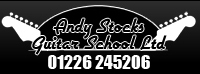 Andy Stocks Guitar School Ltd Logo